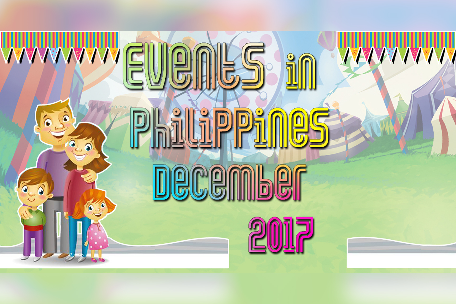 Events in Philippines December 2017