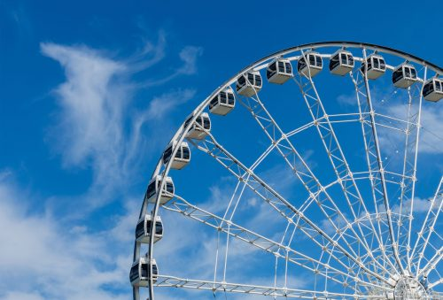 The Adventure of Sky Wheel first in Mindanao