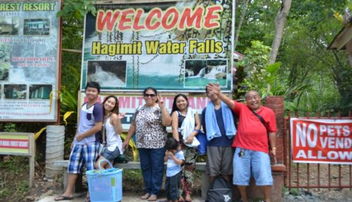 Hagimit Falls Nature Pride of Samal Island