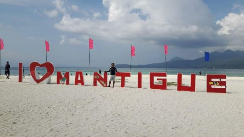 The Famous Mantigue Island in Camiguin