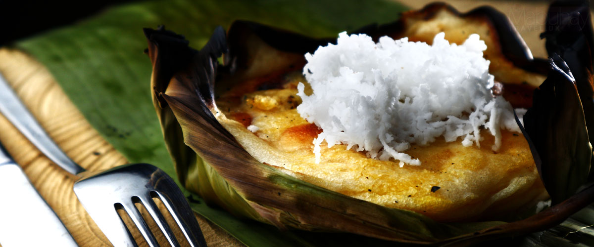 Traditional Filipino Sweets and Desserts - Bibingka