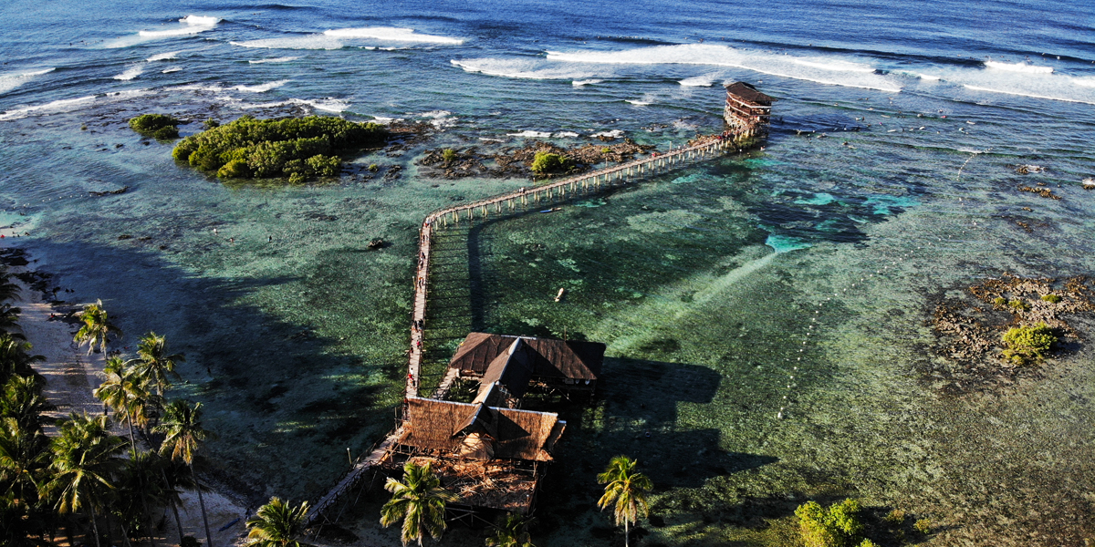 Holidays in the Philippines - Siargao Cloud 9