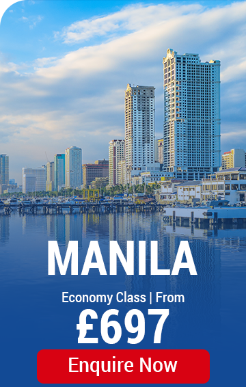 Cheapest flights to the Philippines - Manila